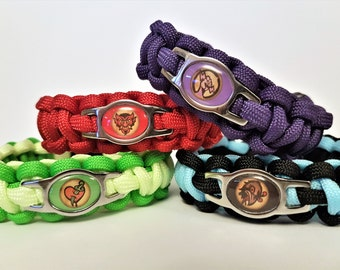 Bioshock Infinite Vigors Paracord Bracelet