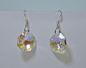 Crystal Earrings -April