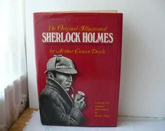 Sherlock Holmes Hollow Book, Hollow Book Box Safe, Secret Compartment Hollow Book, Sherlock Holmes Book Safe