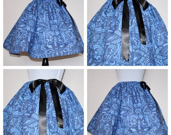 Dr. Who Doctor Who Skirt for Gals, All Sizes, Plus Size