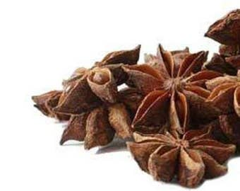 Anise Star Pods Certified Organic Wild Harvested Herbs -  1 Oz.