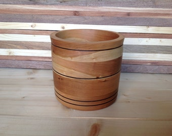 Wood Bowl Handcrafed from Cherry- 16 CHB002