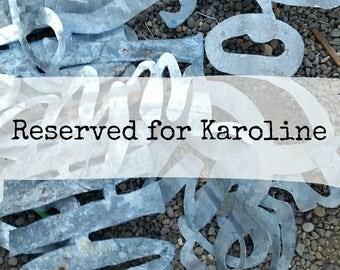 Gather Sign for Karoline