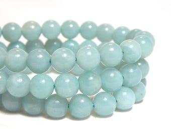 6mm Amazonite, Grade A Amazonite, 6mm Amazonite Beads, 6mm Blue Beads, Amazonite Beads, Blue Beads, High Quality Amazonite, B-27B