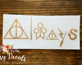 "Harry Potter theme ""Always"" Decal"