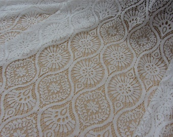 Corded Lace Fabric,lace fabric for dress,bone cotton lace fabric,cored lace ,dress lace -150cm