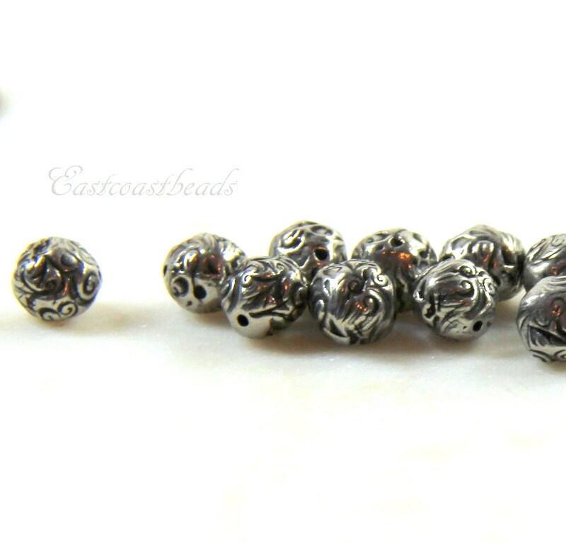 Tierracast beads 8mm jardin beads dulce vida collection for Jardin francais jewelry