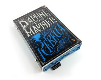 Rebecca purse, Novel purse, Rebecca book purse, Daphne Du Maurier, Every moment was a precious thing, having in it the essence of finality