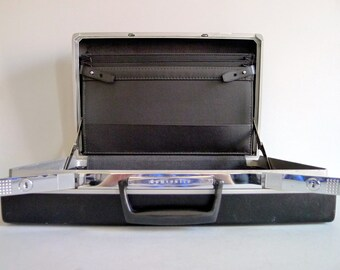 Vintage Black Samsonite Hard Shell Briefcase