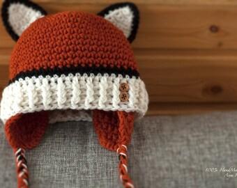 Children's cap Fox
