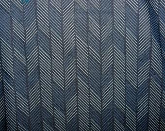 Fabric - Art Gallery - Fading Darts Denim Print 4.5oz Denim
