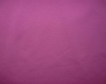 Fabric - Cotton/elastane jersey fabric -  Magenta
