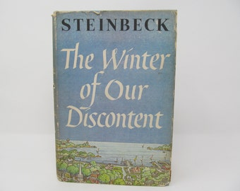 The Winter of Our Discontent- John Steinbeck 1961
