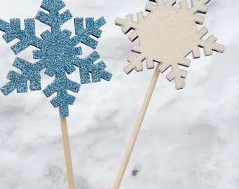 Snowflake party prop/ Party prop/ Photo prop/ Winter party prop/ Glitter prop