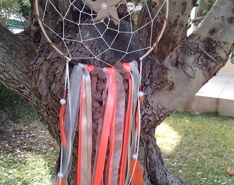 READY TO SHIP - Sale - Dream Catcher - Boho Dream Catcher - Bedroom Decor - Nursery Dream Catcher - Rustic Wedding Decor
