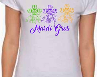 Ladies Mardi Gras Dukes Shirt