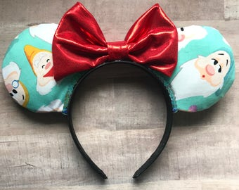 Seven dwarfs ears | Snow White ears | disney ears