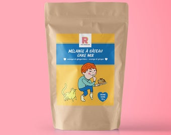 PRESALE - Mix orange cake and ginger