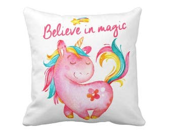 Unicorn pillow, Unicorn Decor, Unicorn Shower Gift, Unicorn Decoration, Unicorn decoration , Unicorn Gift, Nursery decoration, Girl Unicorn