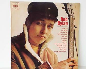 Vintage 1965 Bob Dylan Vinyl Record LP Australian Pressing Mono Folk