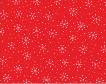 Red Dot Green Dash by Me and My Sister Designs for Moda fabrics. Red 22301 11