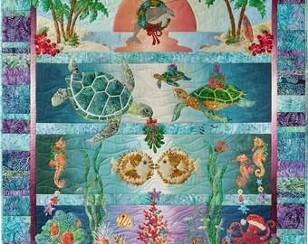 Tropical Noel Quilt Kit by McKenna Ryan