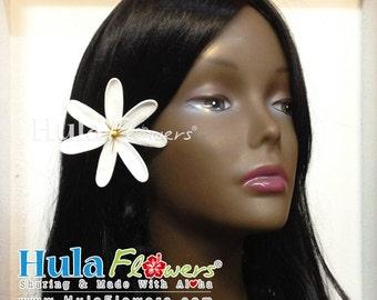 Tahitian Tiare Hair Clip or Stem, Tiare-03