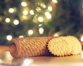 CHRISTMAS TREE *** Embossing rolling pin, laser engraved rolling pin***Christmas***