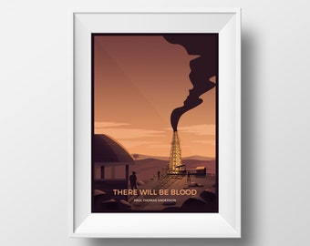 There Will Be Blood Poster Print