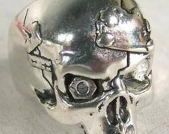 One Eyed Skull Ring