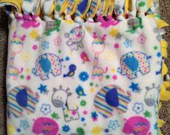Baby Animals Fleece Blanket