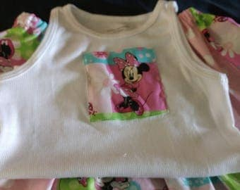 Minnie Mouse Twirl Skirt set Size 3