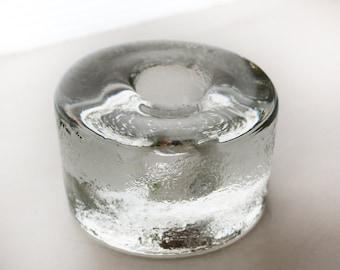 Blenko Art Glass Taper Candle Holder