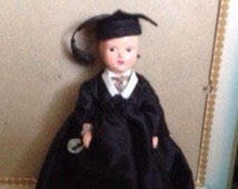 Vintage Virga Doll Boy Graduate