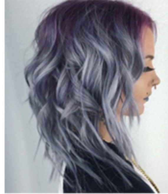 Pulp Riot Smoke Dark Silver Hair Dye Color Punk