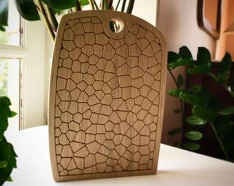 cutting board oak / cutting board design / modern cutting board / Board cutting board in oak / cutting board design / cutting board