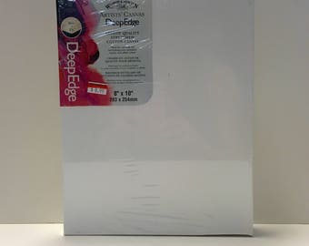 """Winsor & Newton Artists' Quality Stretched Cotton Canvas DeepEdge 8""""x10"""""""