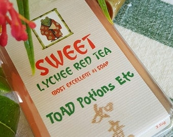 SWEET Lychee Red Tea Most Excellent #1 Soap
