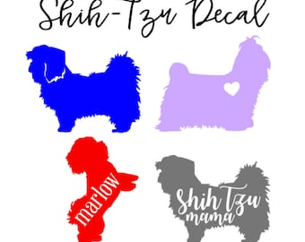 Shih-Tzu Decal