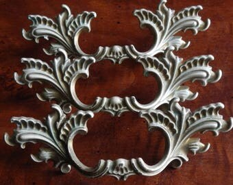 Trio of French Provincial Drawer Handles!