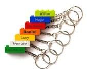 LEGO Brick Personalised Key Rings