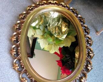 Mirror Syroco Wood Syracuse Ornamental Co Home Decor Vintage BLM