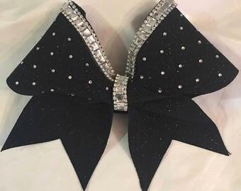 Rhinestone Glitter Bow