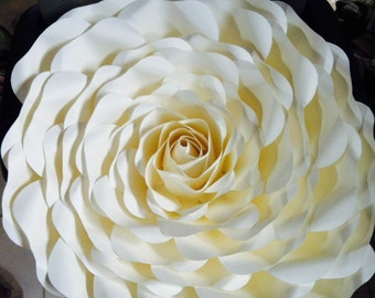 Huge Paper Flower (for placement on a wall)
