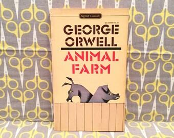 Animal Farm by George Orwell paperback book vintage