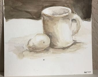 Watercolor Painting - Still Life Painting
