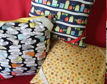 Reading pillow cover for book lovers who love to snuggle in comfort with their favourite read