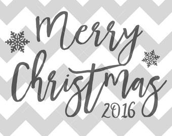 Engraved Merry Christmas Design / BACK DESIGN Add-On