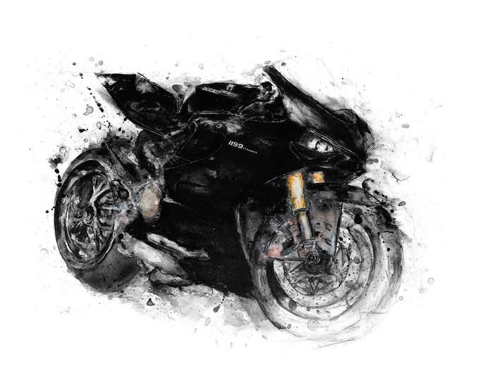 Ducati Panigale - Stealth