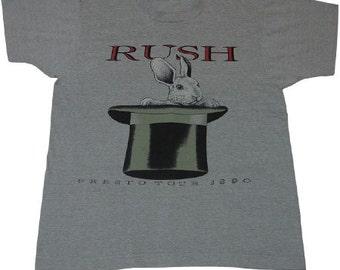 90s vintage RUSH tshirts Made in usa